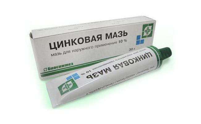 Цинковая мазь для лечения аллергической реакции
