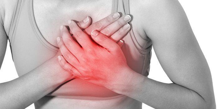 Жжение в грудине: причины