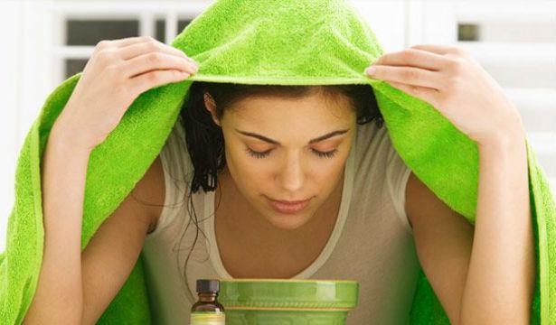Ингаляции устраняют заложенность уха и насморк