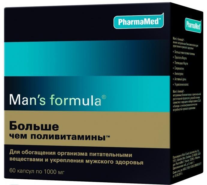 Менс формула содержит большое количество натуральных веществ