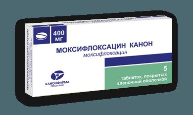 Препарат Моксифлоксацин