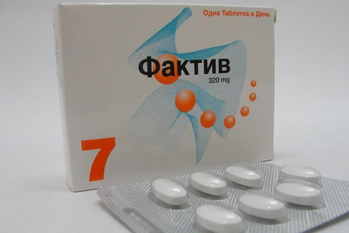 Препарат Фактив можно принимать независимо от приема пищи
