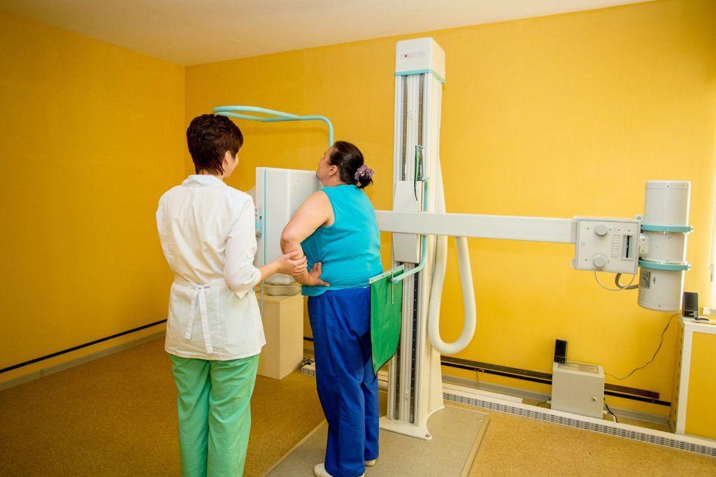 Проведение рентгена грудной клетки
