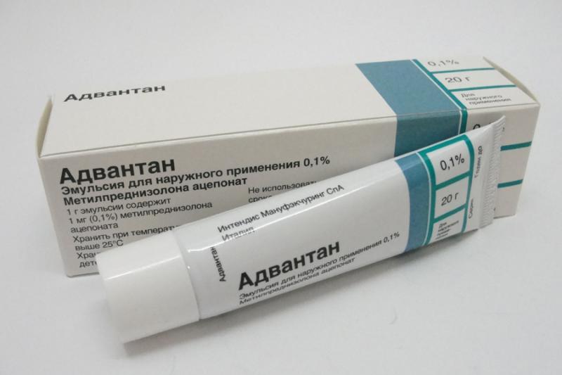 Противоаллергическое гормональное средство последнего поколения Адвантан