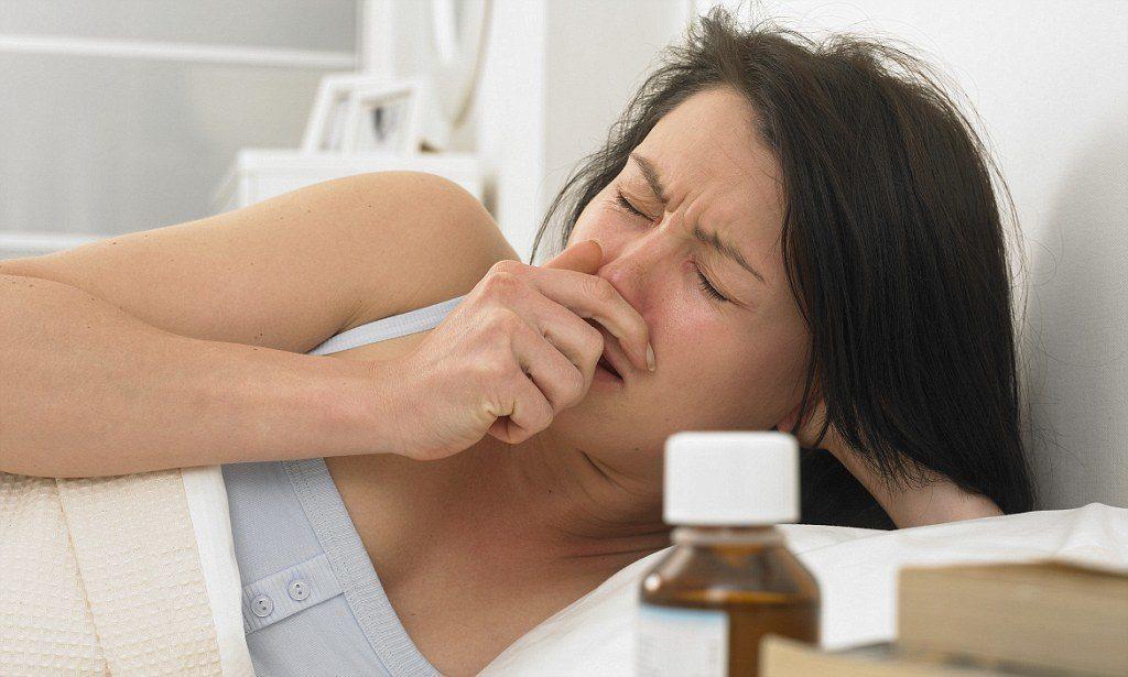 Чихание и насморк без температуры