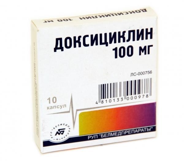 Антибактериальный препарат Доксициклин