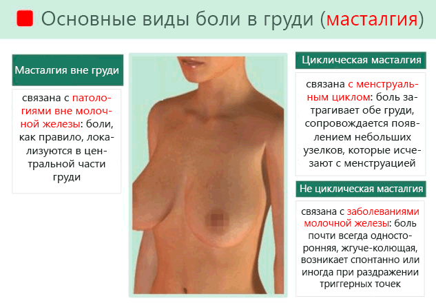 У кого болит грудь после секса когда вы сверху
