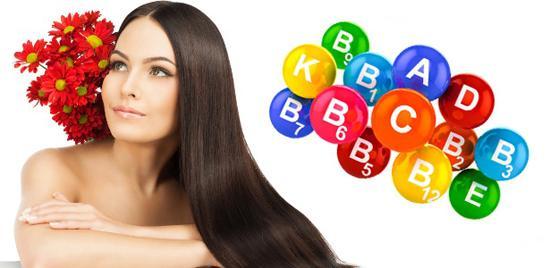 Витамины необходимы для здоровых волос и кожи