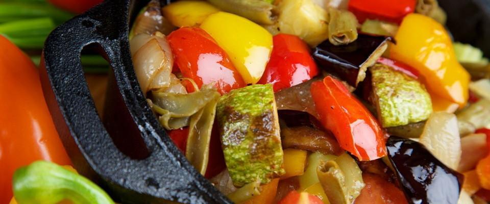 Вкусные диетические блюда из овощей