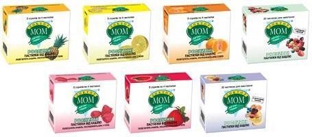 Вкусы препарата Доктор Мом