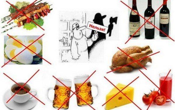 Вредные продукты при отложении солей