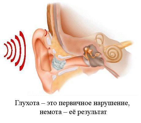 Глухота - последствие отита