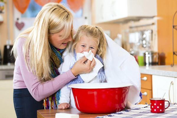 Ингаляции позволяют улучшить тонус дыхательной системы