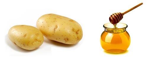 Картофельный компресс с медом облегчает отхождение мокроты и уменьшает выраженность воспалительного процесса
