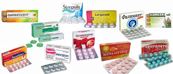 Леденцы от кашля и боли в горле