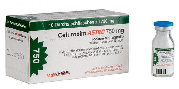 Лекарственное средство Цефуроксим