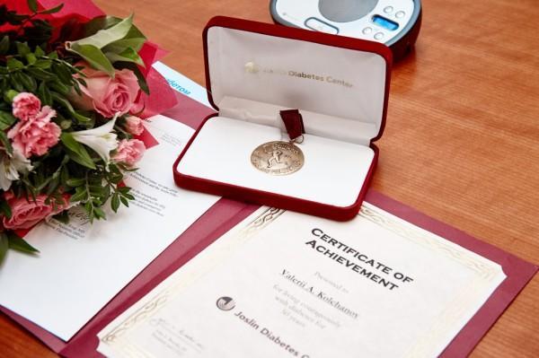 Медаль Джослина - награда за жизнь с диабетом без осложнений