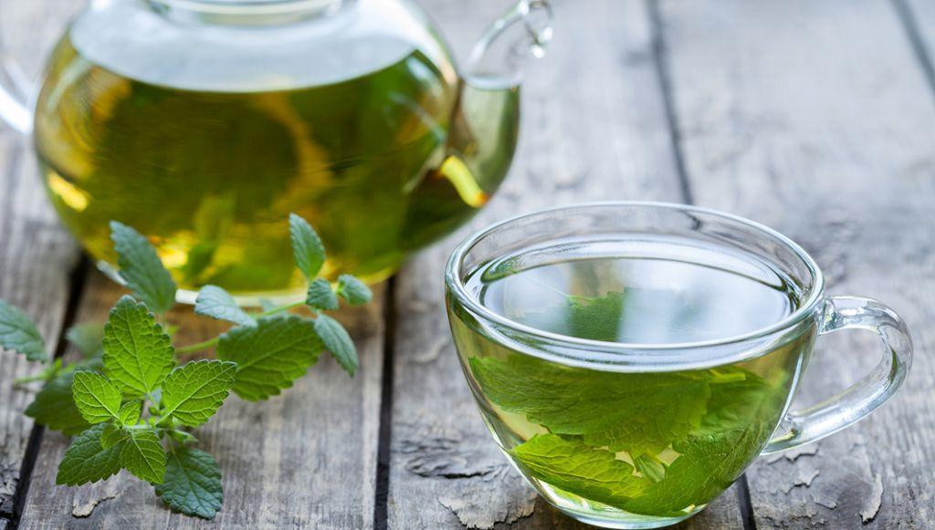 Мятный чай с мелиссой обладает выраженным обезболивающим эффектом