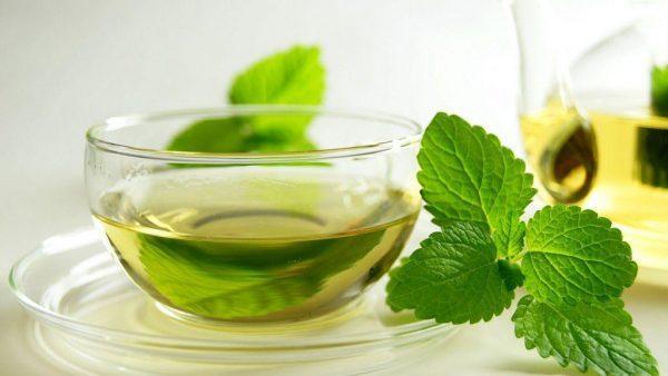 Настой мяты способствует значительному расслаблению и устранению воспалительных процессов