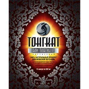 Натуральный продукт Тонгкат Али Платинум для улучшения мужской потенции