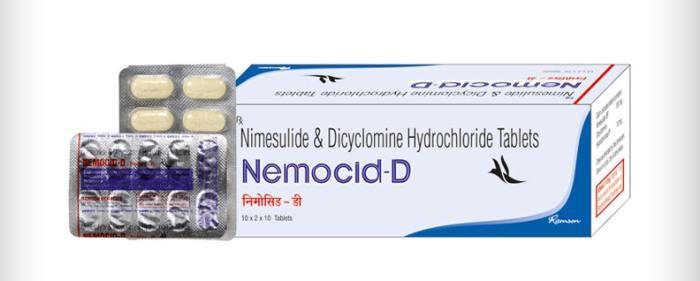 Немоцид в таблетках
