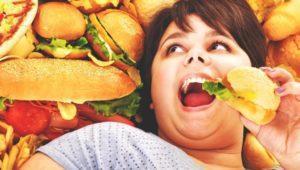 Неправильное питание - враг здоровой кожи