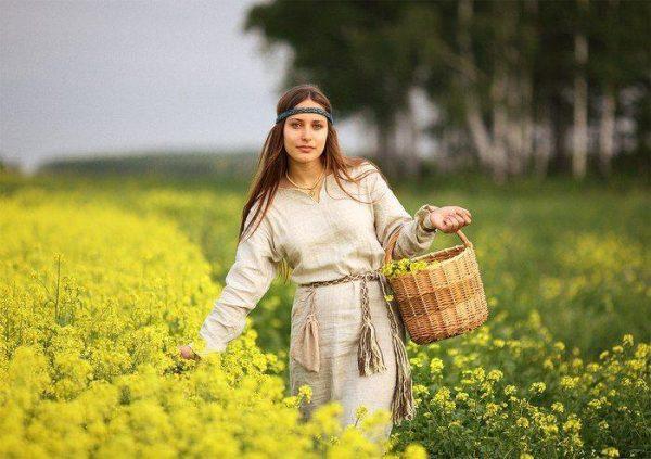 Одежда с длинным рукавом защищала от появления веснушек на теле