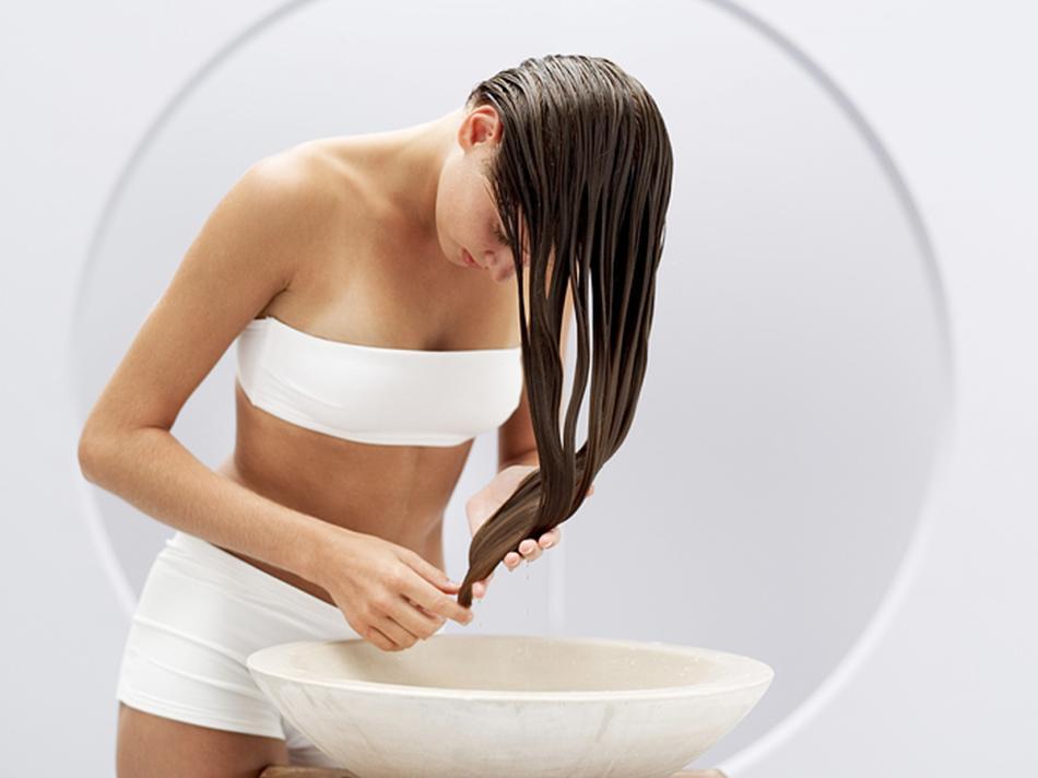 Ополаскивание волос травяным отваром