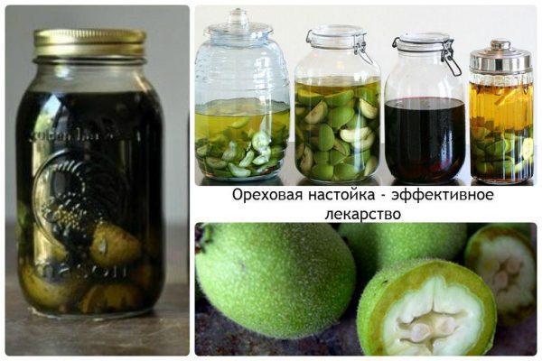 Ореховая настойка - эффективное лекарство в лечении кисты яичника
