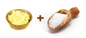 Отличным противовоспалительным средством является компресс из соли и горчичного порошка