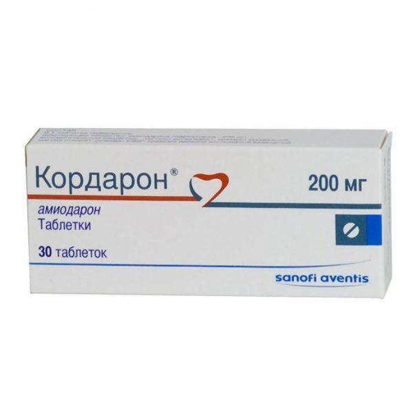 Препарат Кордарон в форме таблеток