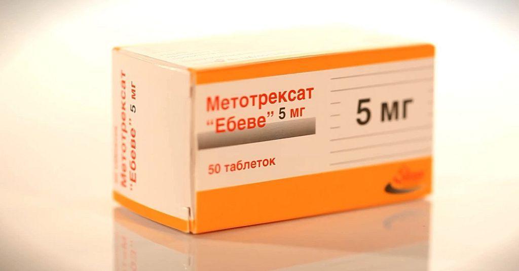 Препарат Метотрексат в форме таблеток