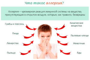 Провокаторы аллергии