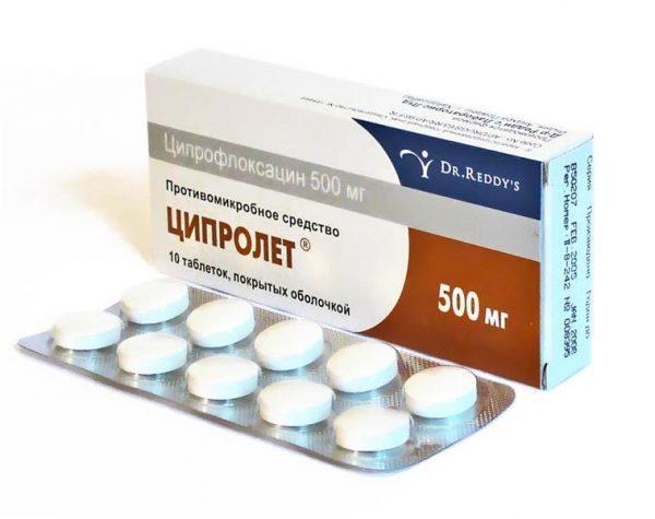Противомикробное средство Ципролет