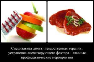 Профилактика анемии