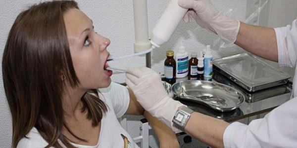 Процедура криотерапии