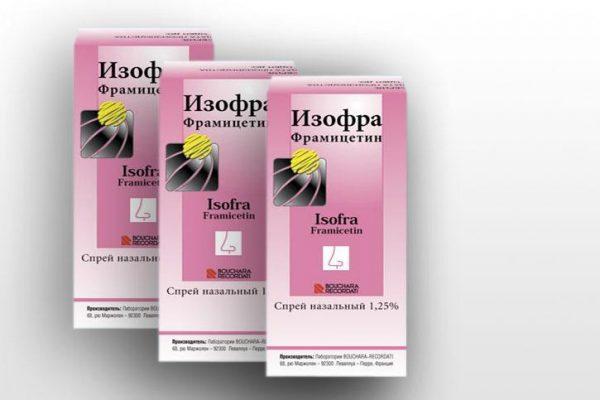 Спрей Изофра после первого использования значительно облегчает состояние больного