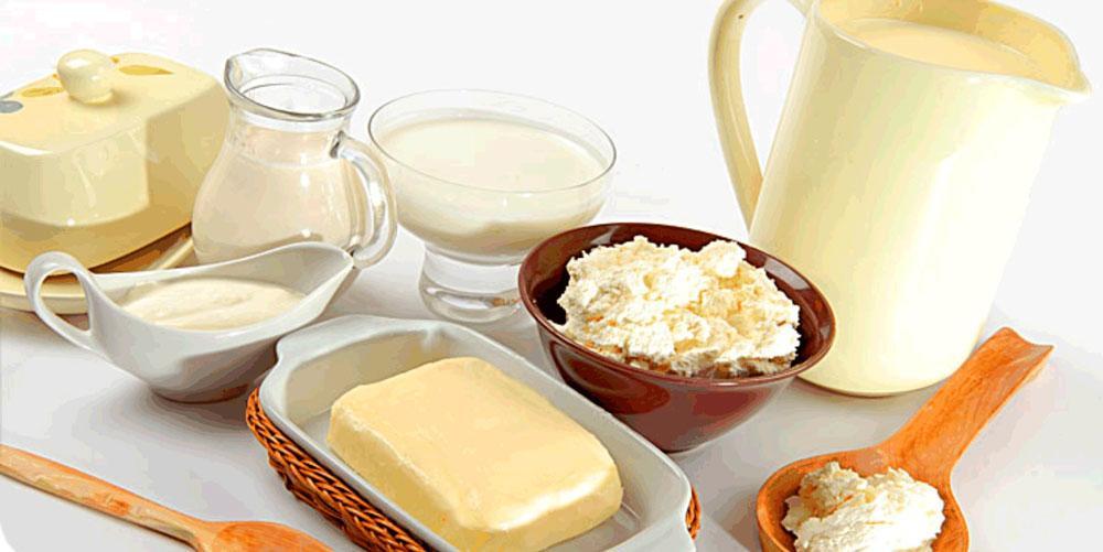 На период болезни молочные продукты необходимо исключить из рациона