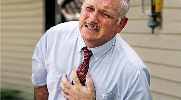 Если вовремя не будет оказана помощь, может случится ишемический инфаркт