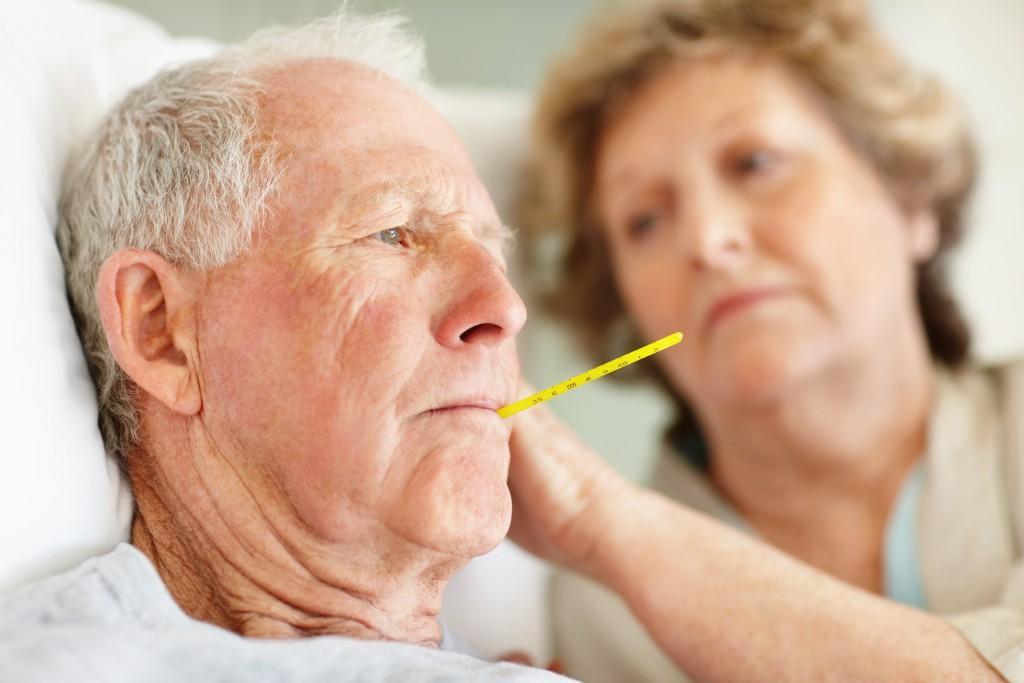 У пожилых людей первая стадия заболевания протекает в более тяжелой форме