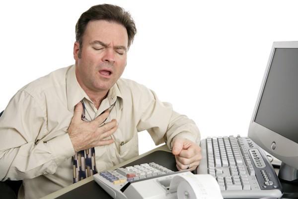 Появления одышки, учащенное дыхание может является следствием мерцательной аритмии