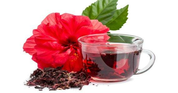 Напиток из суданской розы (каркадэ)