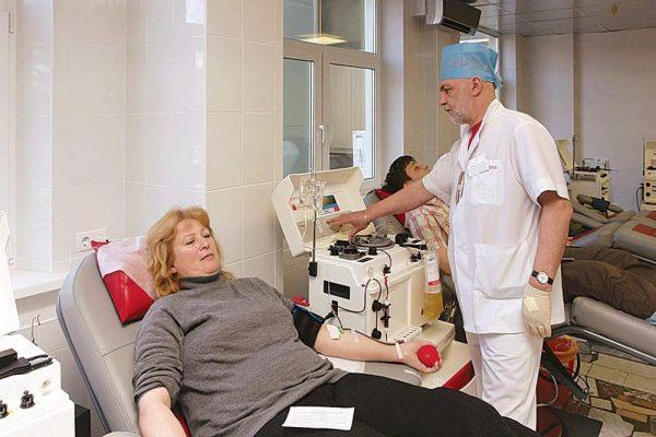 Очистка крови с помощью плазмафереза
