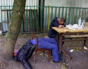 Алкоголизм может стать причиной деградации