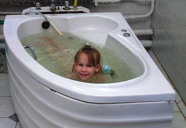 Бальнеотерапия. Ванны с морской водой