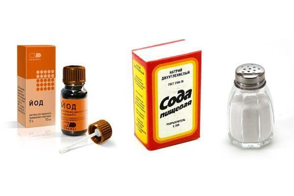 Ингредиенты для устранения болей в горле
