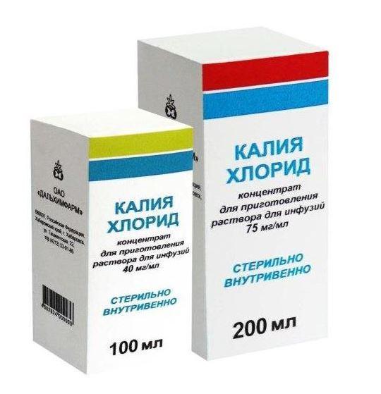 Калия Хлорид для лечения глюкозурии