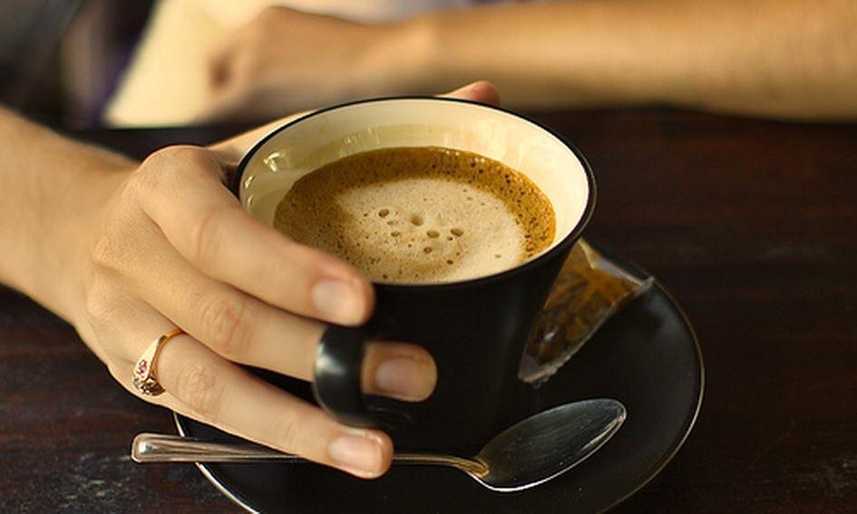 выпьем кофе картинка вид птиц