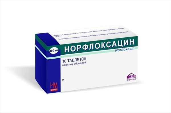 Препарат Норфлоксацин