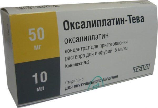 Препарат Оксалиплатин